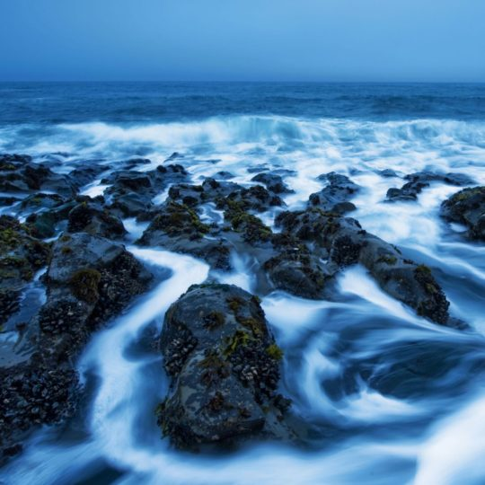 Paisaje de mar azul Fondo de Pantalla SmartPhone para Android