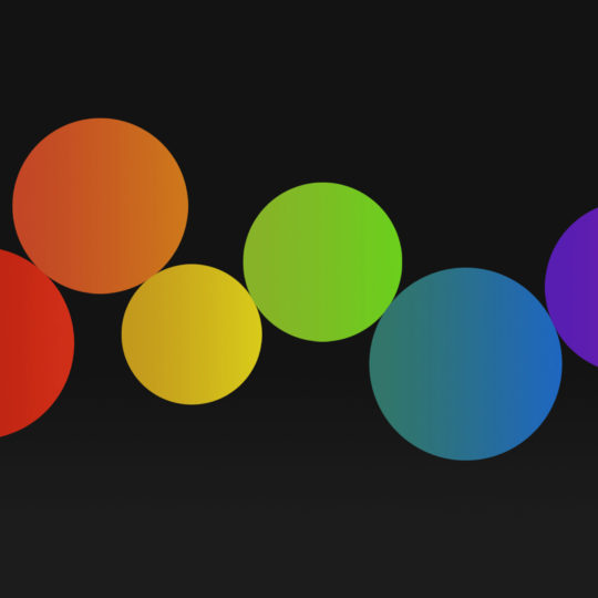Lunares negros colorido Fondo de Pantalla SmartPhone para Android