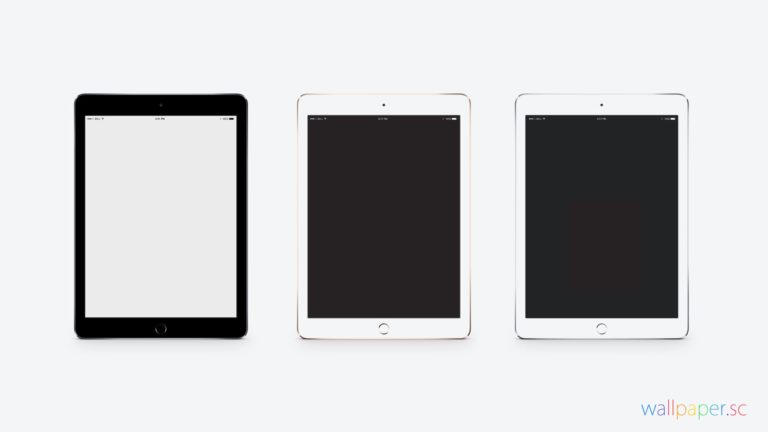Apple iPad Air 2 blanco Fondo de escritorio de PC / Mac
