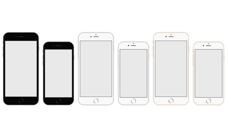 Apple iPhone 6 iPhone 6 Plus blanco Fondo de escritorio de PC / Mac
