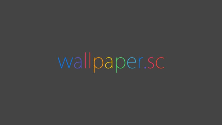 Wallpaper.sc logo negro Fondo de escritorio de PC / Mac