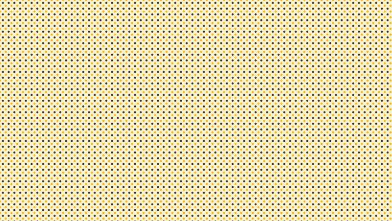 Patrón de lunares amarillo negro Fondo de escritorio de PC / Mac