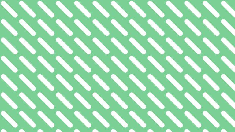 Patrón verde blanco Fondo de escritorio de PC / Mac