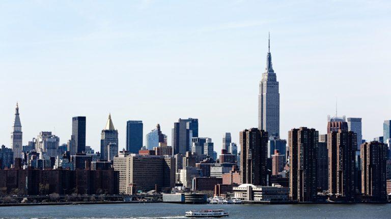 Paisaje Nueva York Manhattan Fondo de escritorio de PC / Mac