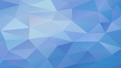 Patrón polígono azul