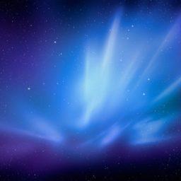 Azul del espacio iPad / Air / mini / Pro Wallpaper