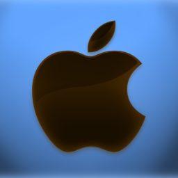 Azul de la manzana iPad / Air / mini / Pro Wallpaper