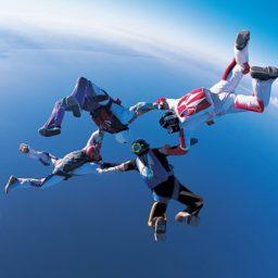 paracaidismo Chara iPad / Air / mini / Pro Wallpaper