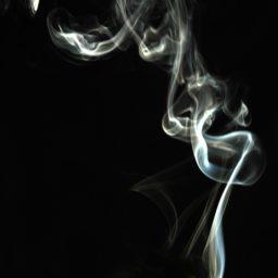 El humo negro paisaje iPad / Air / mini / Pro Wallpaper