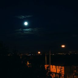 paisaje nocturno iPad / Air / mini / Pro Wallpaper