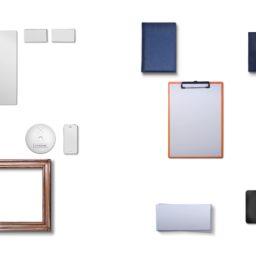 Efectos de escritorio blanco del smartphone iPad / Air / mini / Pro Wallpaper