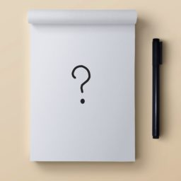 Notas pluma Blanco iPad / Air / mini / Pro Wallpaper