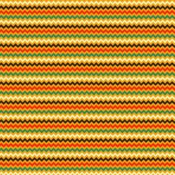 Patrón de borde irregular de color rojo-naranja verde iPad / Air / mini / Pro Wallpaper