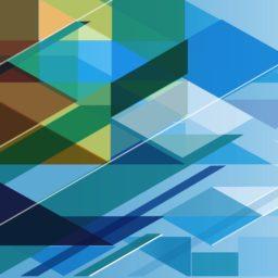 Modelo azul guay iPad / Air / mini / Pro Wallpaper