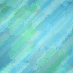ilustración modelo azul-verde iPad / Air / mini / Pro Wallpaper