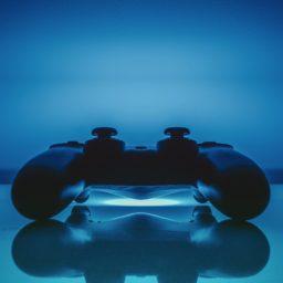 controlador PS azul guay iPad / Air / mini / Pro Wallpaper