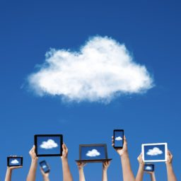 Nube azul PC iPad / Air / mini / Pro Wallpaper