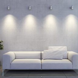 Sofá de la sala blanca iPad / Air / mini / Pro Wallpaper