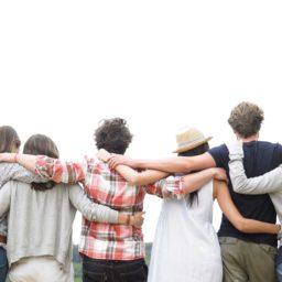 La gente amistad iPad / Air / mini / Pro Wallpaper