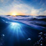 Paisaje mar sol