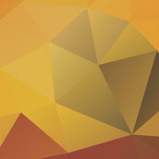 Patrón té amarillo naranja Fondo de Pantalla de iPhone4s