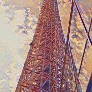 torre Fondo de pantalla iPhone SE / iPhone5s / 5c / 5