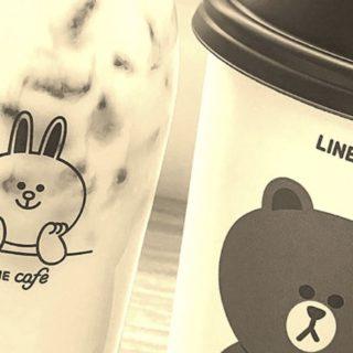 LINE Cafetería Fondo de pantalla iPhone SE / iPhone5s / 5c / 5