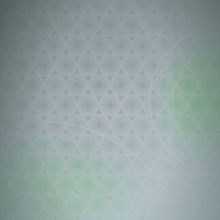 Dot círculo patrón de gradación verde Fondo de pantalla iPhone SE / iPhone5s / 5c / 5