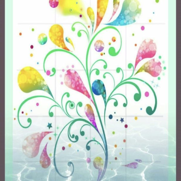 Flor Fondo de Pantalla de iPhone7Plus