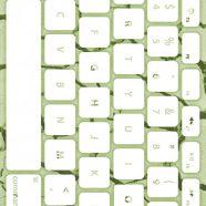 Teclado de tierra amarillo-verde blanco Fondo de Pantalla de iPhone8