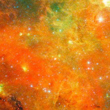 rojo espacio Fondo de Pantalla de iPhone8