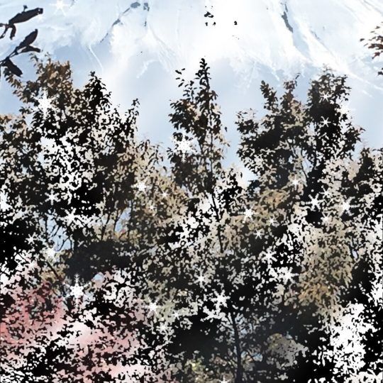 Mt. Fuji cahaya Android SmartPhone Wallpaper