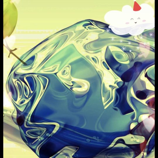 Blob cloud Android SmartPhone Wallpaper