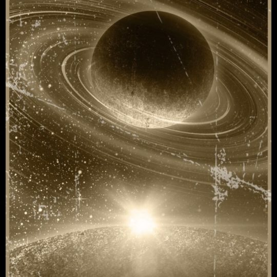 Planet Sepia Android SmartPhone Wallpaper
