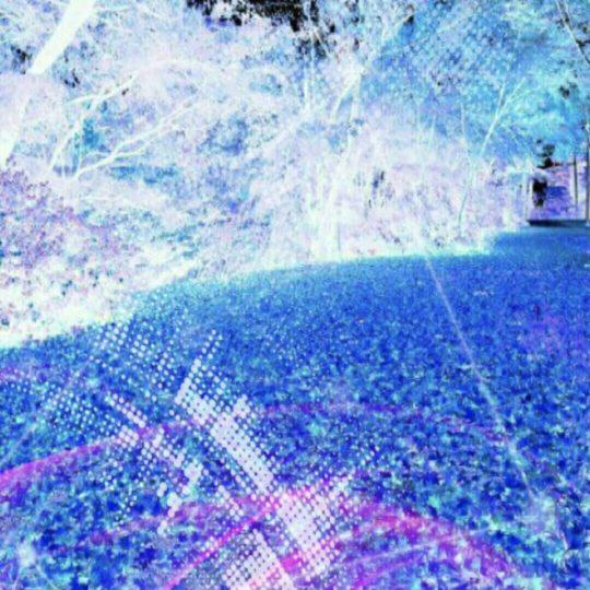 Biru jatuh Android SmartPhone Wallpaper