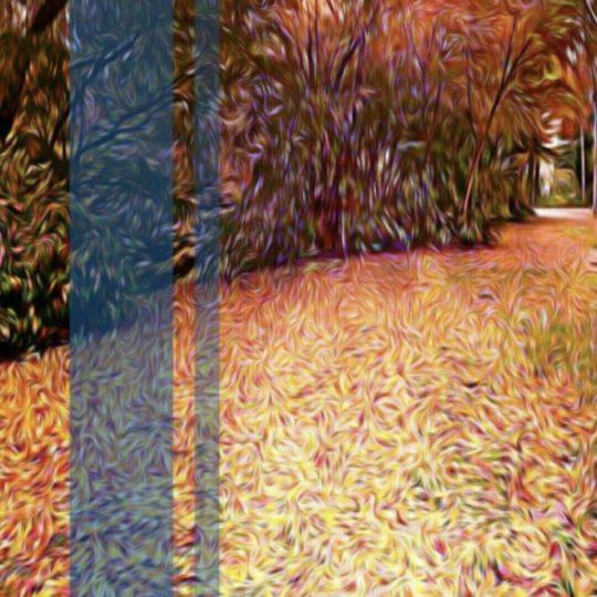 Musim gugur daun daun gugur Android SmartPhone Wallpaper