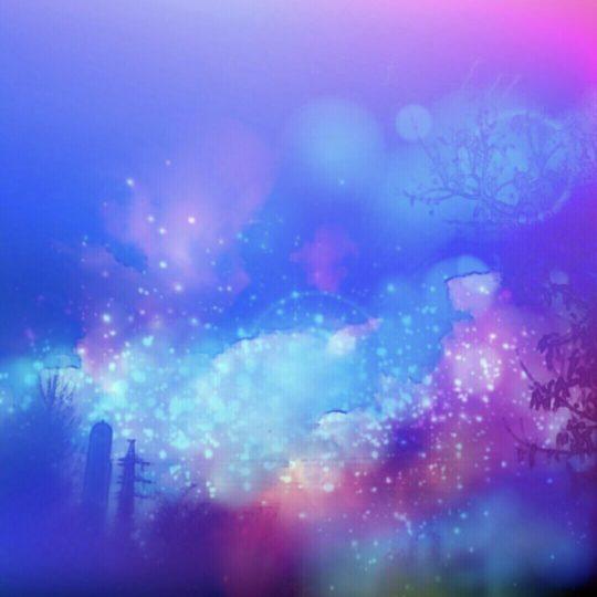Pemandangan malam fantastis Android SmartPhone Wallpaper