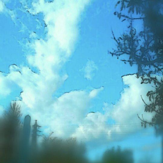 Pemandangan langit Android SmartPhone Wallpaper