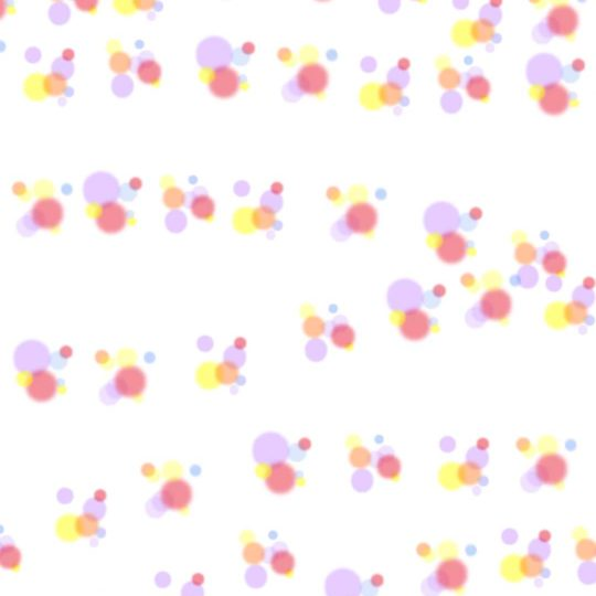 Air polka dot berwarna Android SmartPhone Wallpaper
