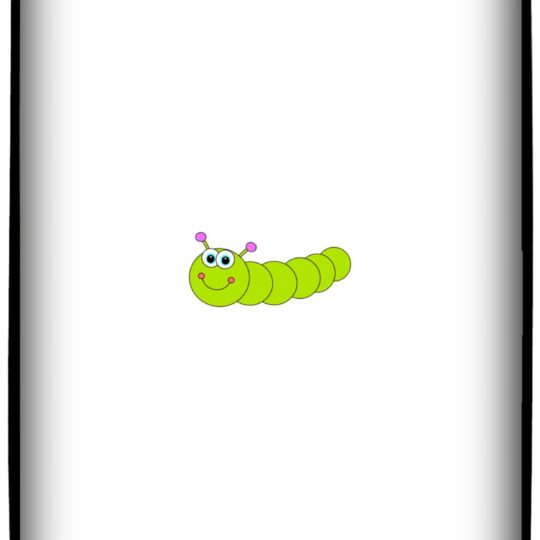 Ilustrasi Caterpillar Android SmartPhone Wallpaper