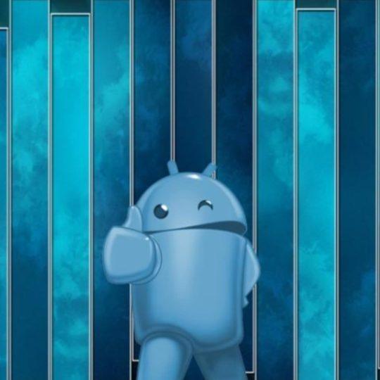 biru logo Android Android SmartPhone Wallpaper