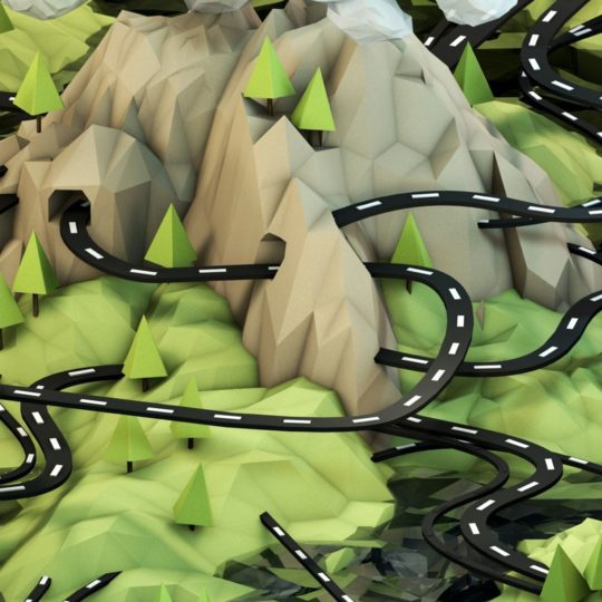 gambar pemandangan hijau Android SmartPhone Wallpaper