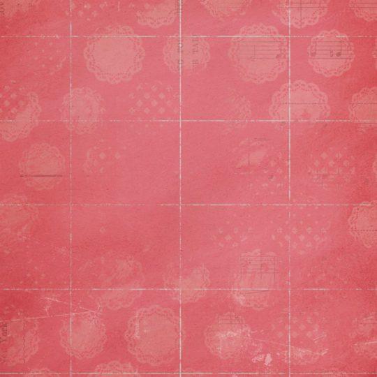 Merah catatan skor musik Android SmartPhone Wallpaper