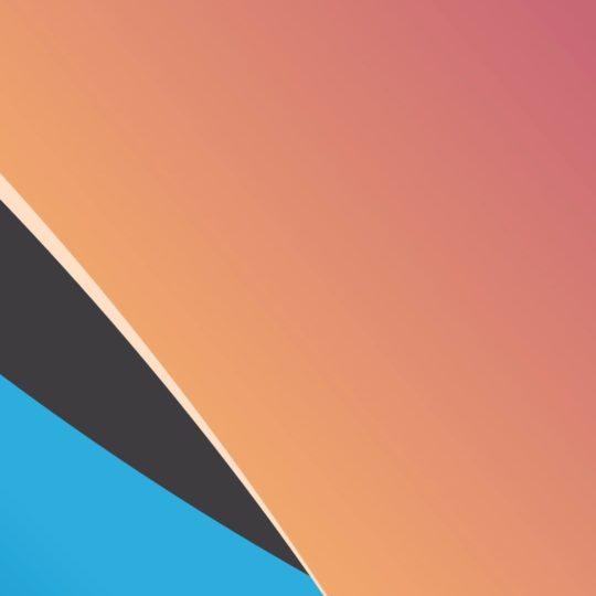 Pola merah biru hitam Android SmartPhone Wallpaper