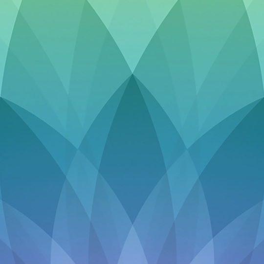 Apple spring event ungu biru hijau pattern Android SmartPhone Wallpaper