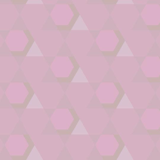 pola geometris Berwarna merah muda Android SmartPhone Wallpaper