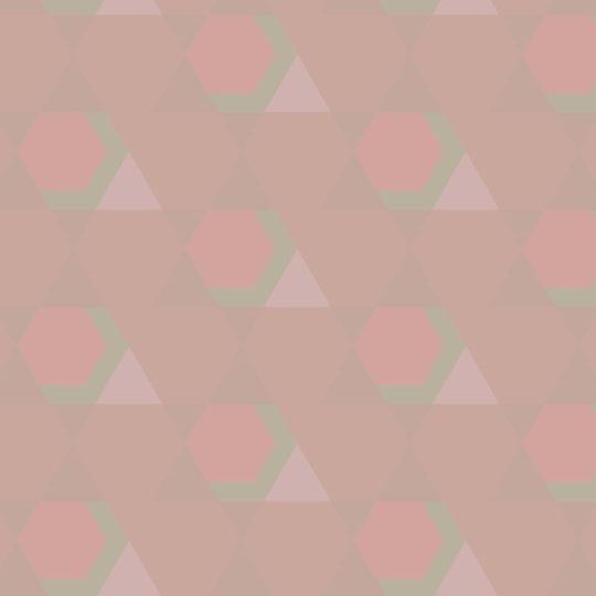 pola geometris Merah Android SmartPhone Wallpaper