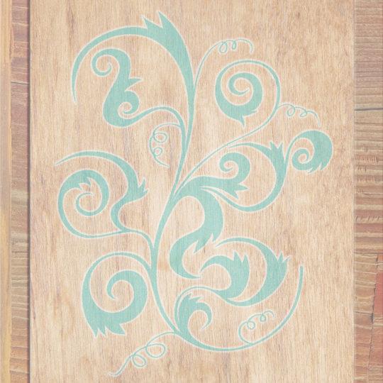 gandum Coklat Biru Android SmartPhone Wallpaper