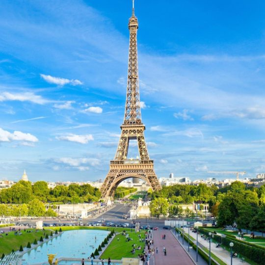 pemandangan Eiffel Tower Android SmartPhone Wallpaper