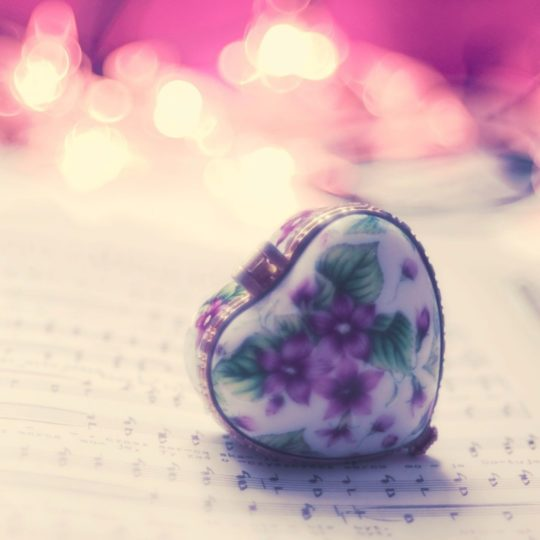 For women Heart music Android SmartPhone Wallpaper